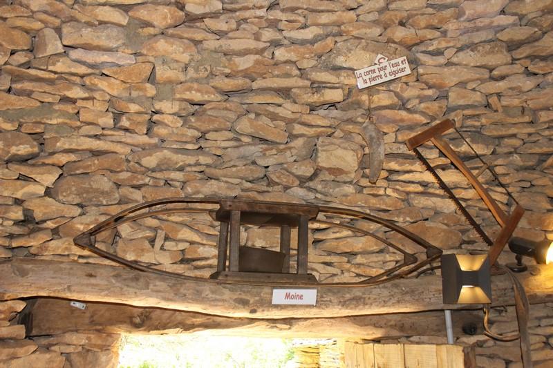 L'intérieur des cabanes du Breuil