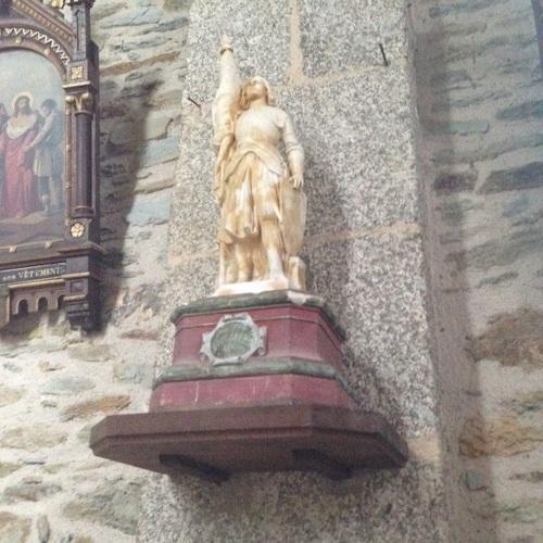 Eglise de St Marcel - Jeanne