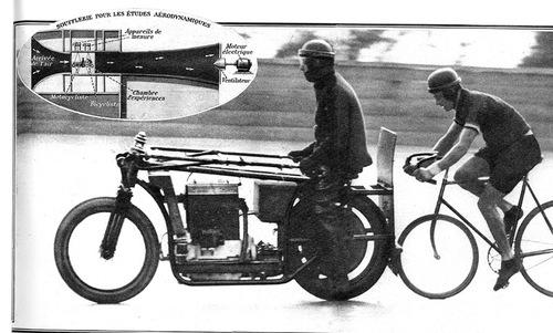 Moteur industriel = moto de record