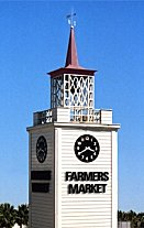 Los Angeles Farmers Market clocktower