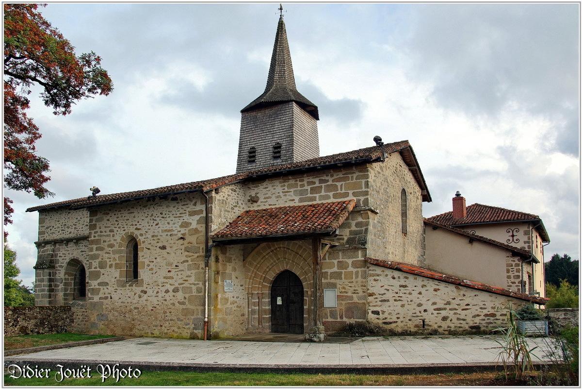 (87) Haute-Vienne - Chaptelat (1) - Eglise St Eloi