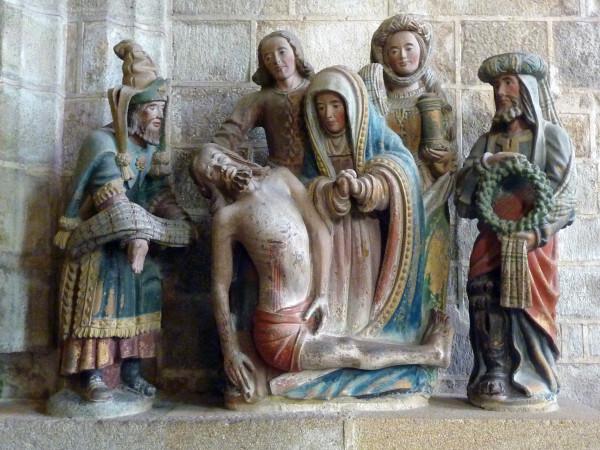 Locronan (Pieta dans l'église)