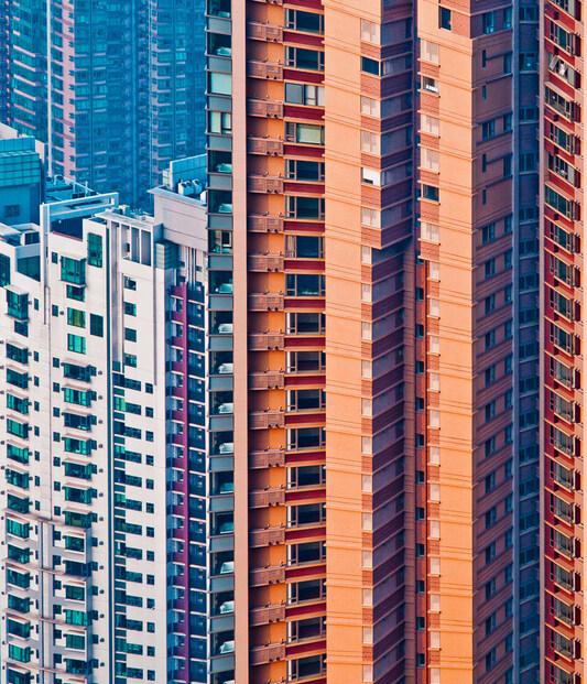 façades à Hong Kong