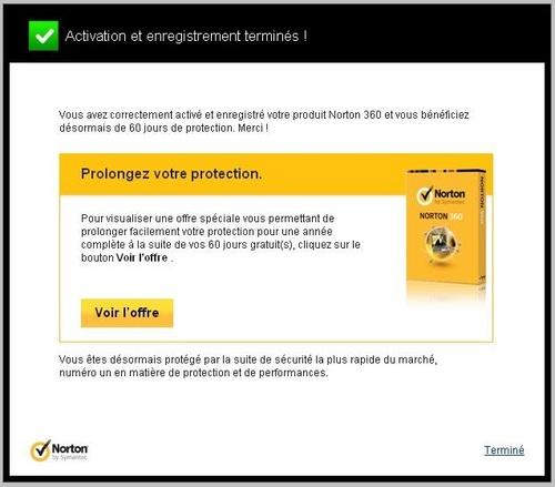 Norton 360 2013 - Licence 60 jours gratuits