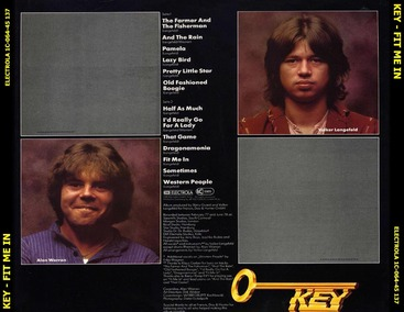 Chefs d'oeuvre oubliés # 60: Key - Fit me in (1978)