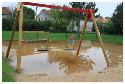 parc de jeux inondable !