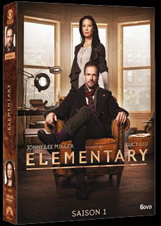 NEW HOLMES. NEW WATSON. NEW YORK. - ELEMENTARY Saison 1 : LE 2 AVRIL 2014 EN DVD.