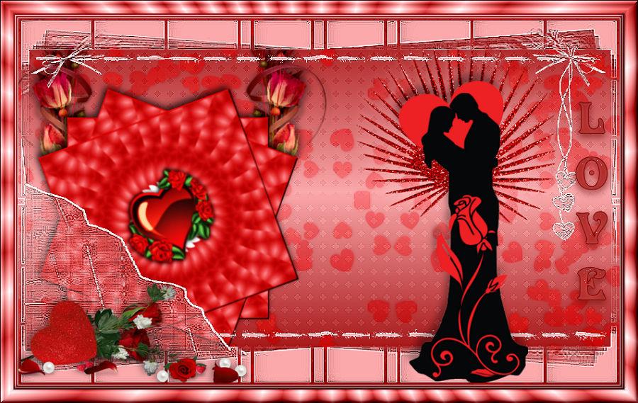 Ma participation au défi st Valentin