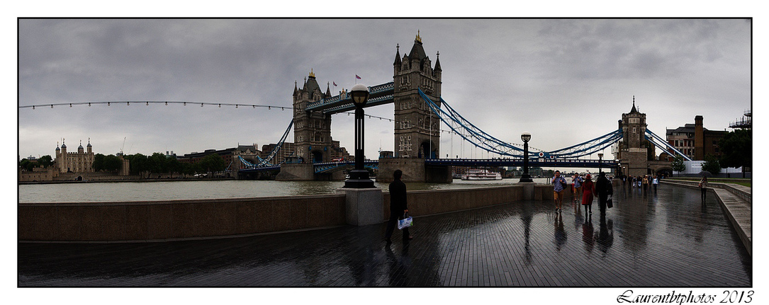 Tower Bridge en panoramique