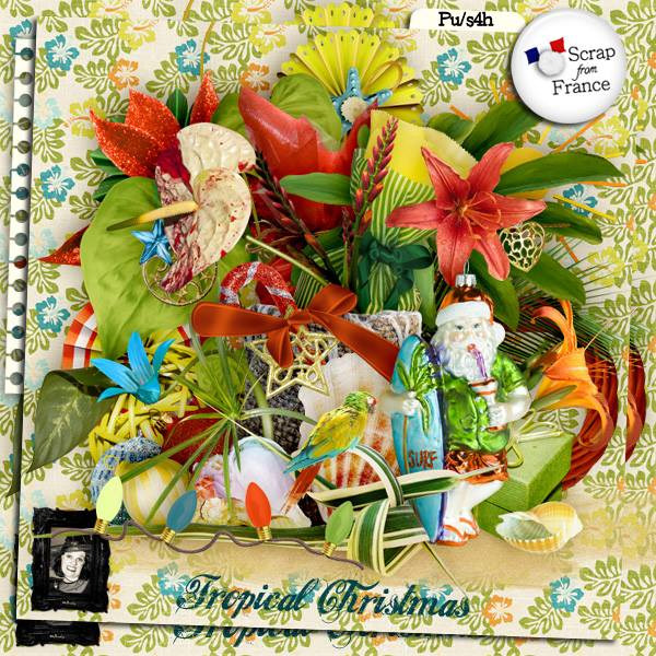 """Tropical Christmas"" by Valkyrie Designs"