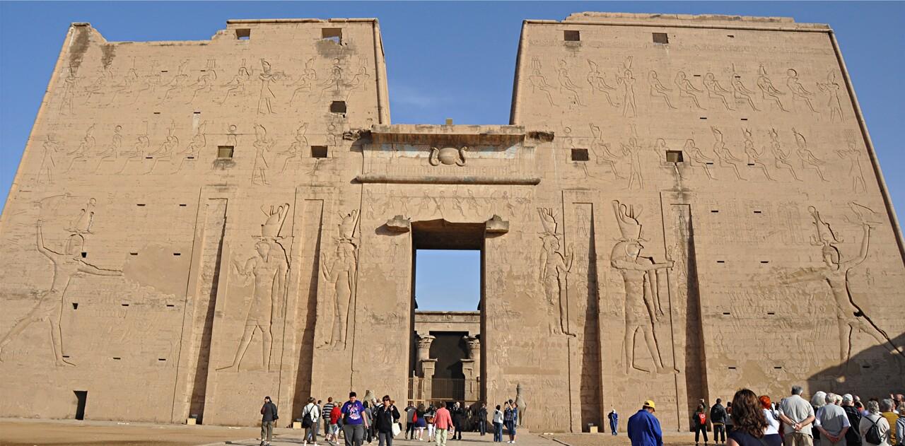 Egypte 7 / Le temple d'Edfou (1)