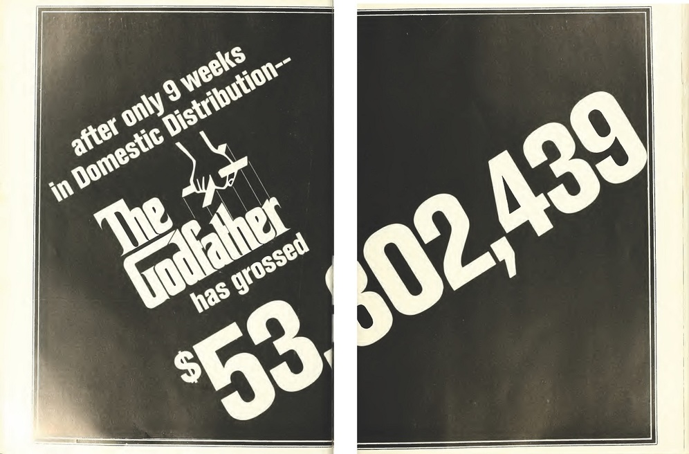 GODFATHER US BOX OFFICE 1972