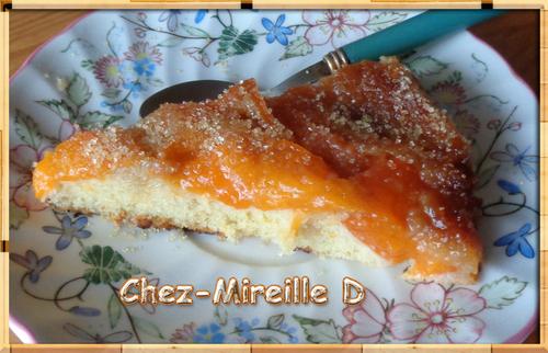 Tarte Moelleuse et Caramélisée aux Abricots