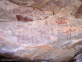 Peintures et gravures rupestres du Tadrar Akakus, Libye 2005