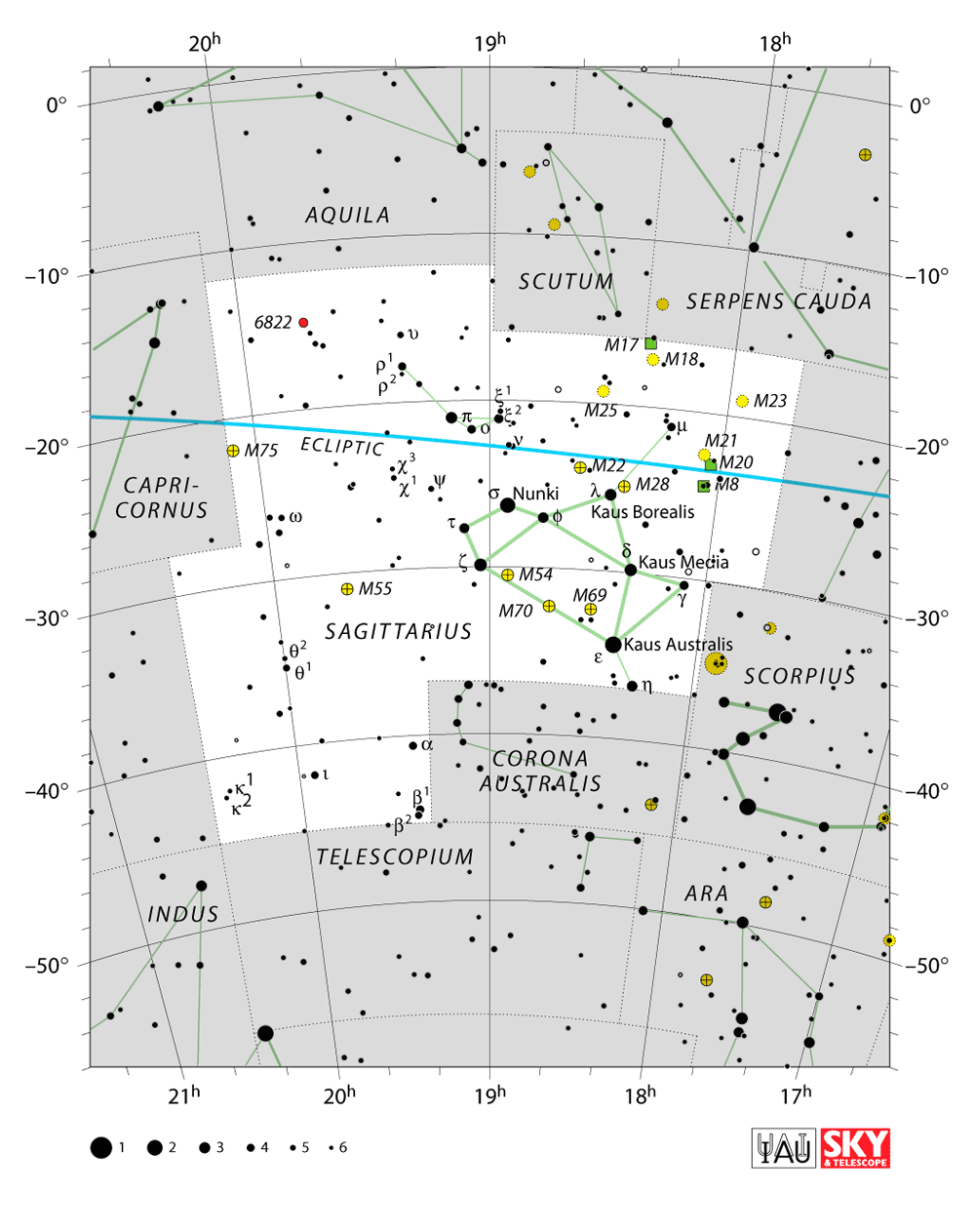 sagittarius map