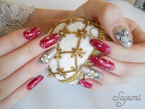 Nail Art de Noël 2014