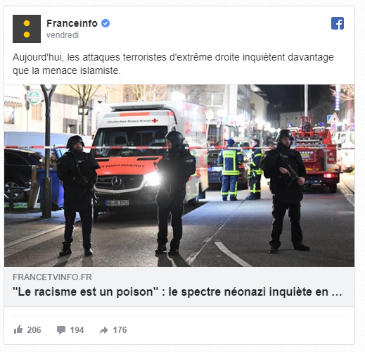 """C'est l'esstrême droâte..."""