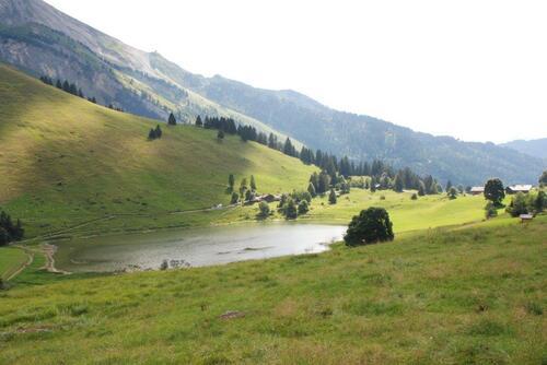 Le petit lac des confins