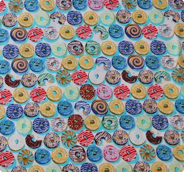 Tissus donuts pour sac à tarte