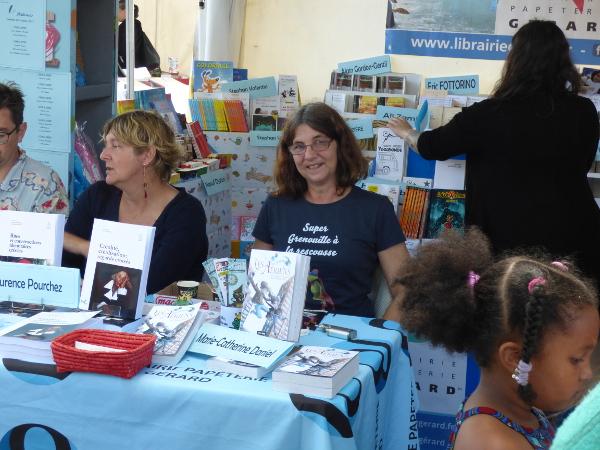 Dédicaces : Salon Athéna, Saint-Pierre de la Réunion, octobre 2017