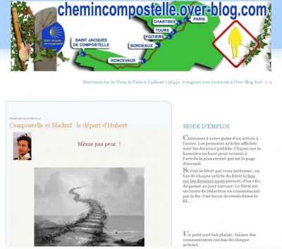 Article de JF sur chemincompostelle.over-blog.com