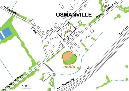 LES REMPARTS D'OSMANVILLE (Calvados)