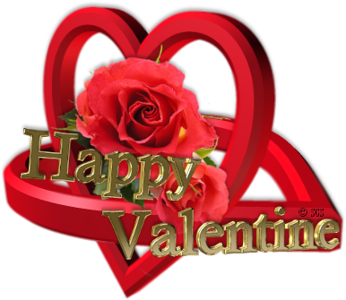 Joyeuse Fête de St Valentin ♥ d' Athos & Cheyenne♥