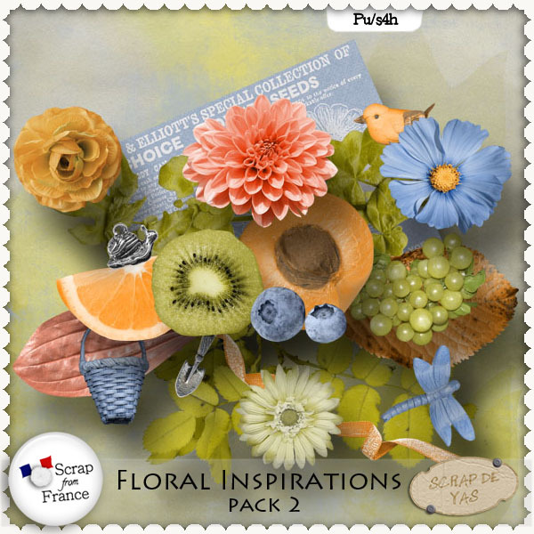 Floral Inspirations Vol 2 par Scrap de Yas