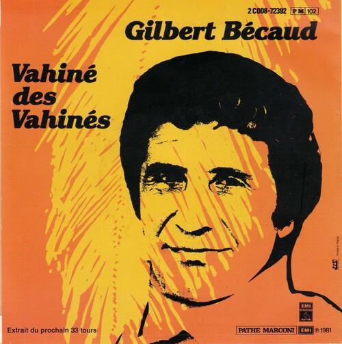 Gilbert Bécaud - Vahiné Des Vahinés (1981)