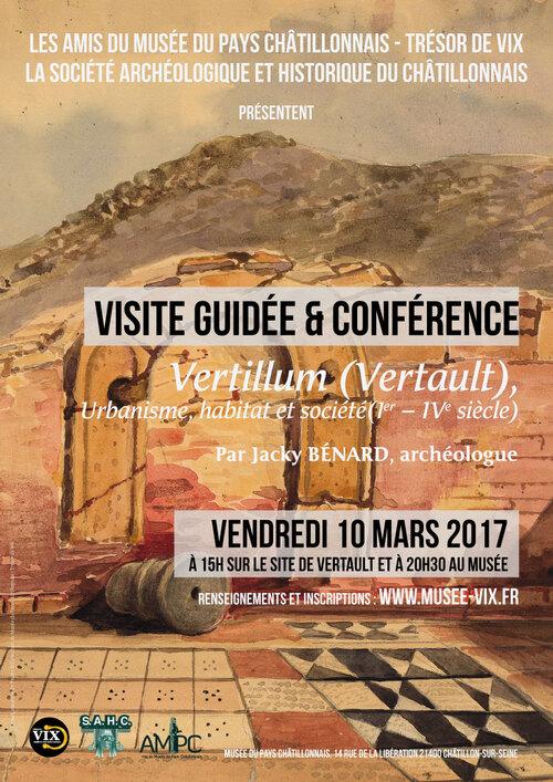 Visite de Vertault et conférence