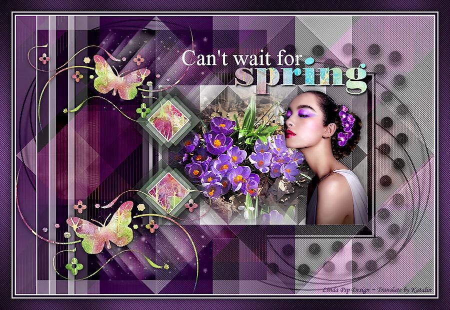 Linda Psp Design ~ Can't wait for Spring