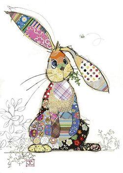 Bunny coloré !