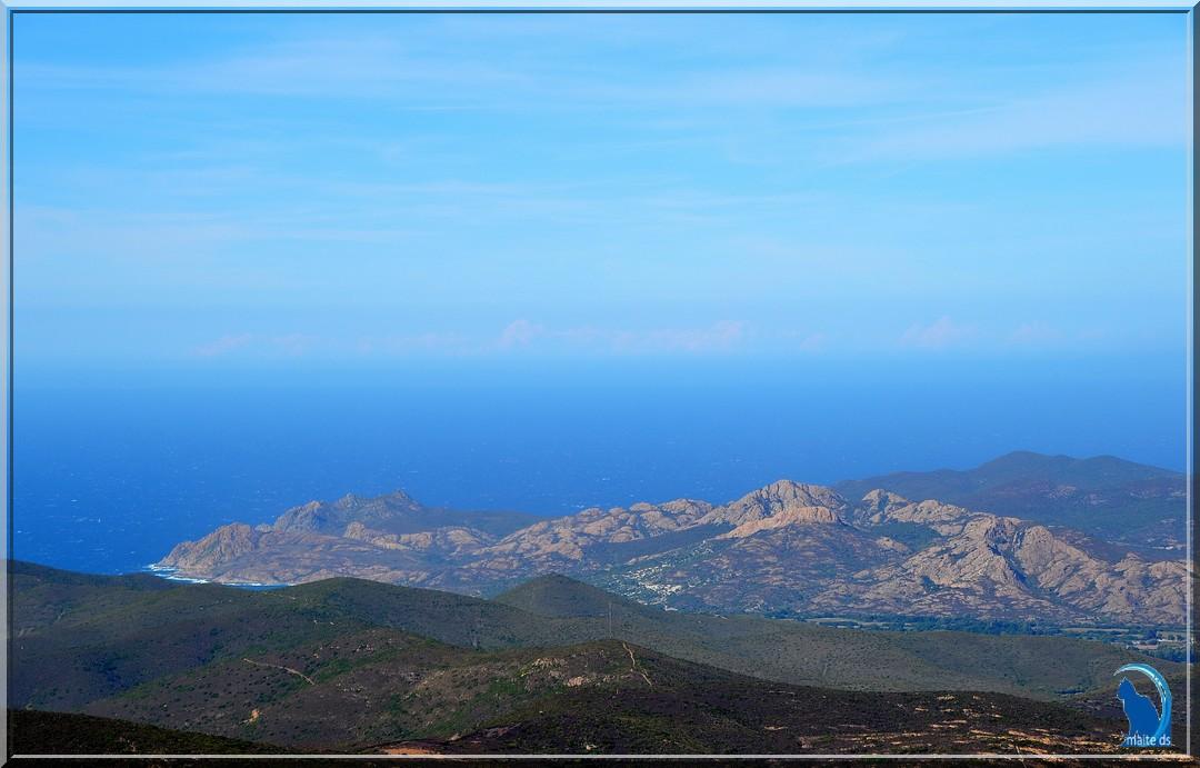 Sur la route d'Olmi-Capella Belgodere  Corse