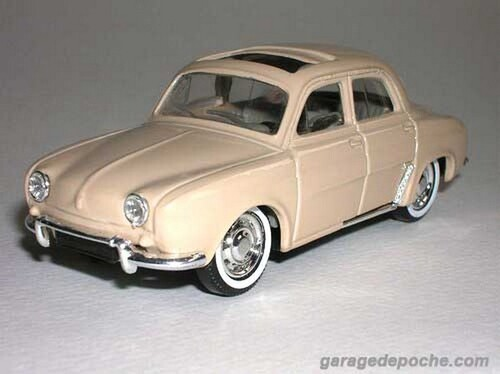 Renault Dauphine toit ouvrant