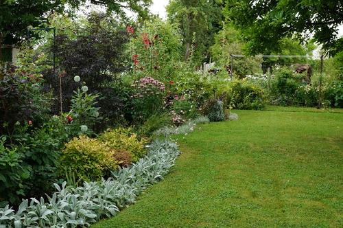 Le jardin zen et gourmand d 39 eliane et alain le jardin de for Massif jardin zen