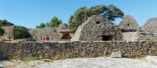 Le village des bories à Gordes (Vaucluse)