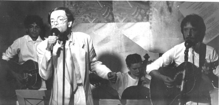 1985 - Pierre-Michel avec Marceau à Paris