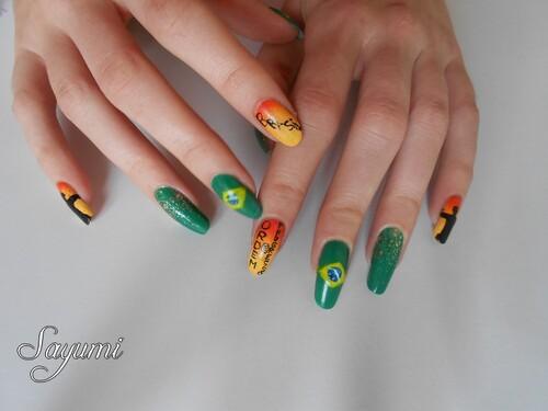 Nail Art Inspiração Brasil