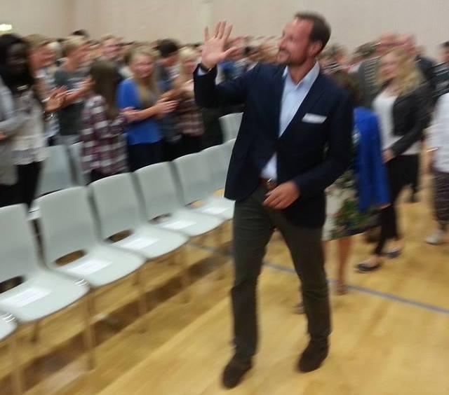 Haakon à l'école