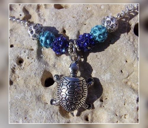 Parure de bijoux tortues
