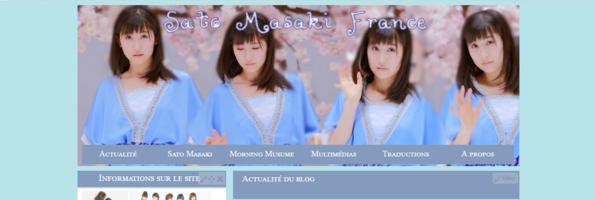 Nouveau thème pour Sato Masaki France !