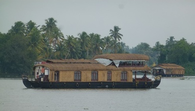 Houseboat sur les backwaters (Alleppey)