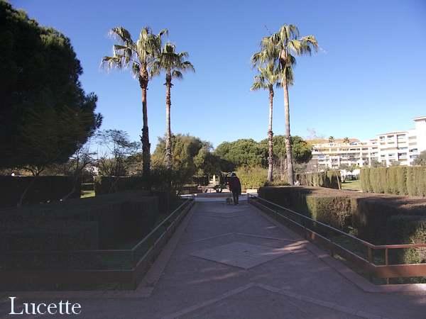 Promenade au parc Exflora d'Antibes