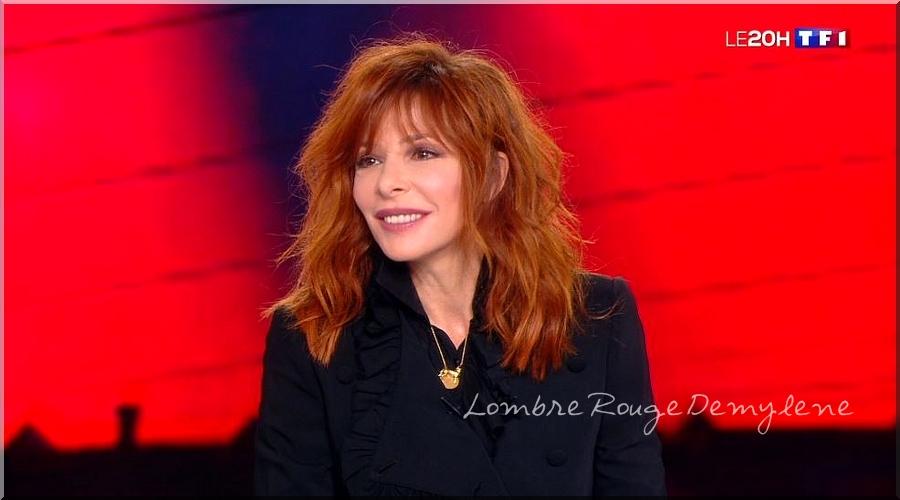 Captures D'ombres MF Interview JT(TF1) 30-09-2018 Série 1