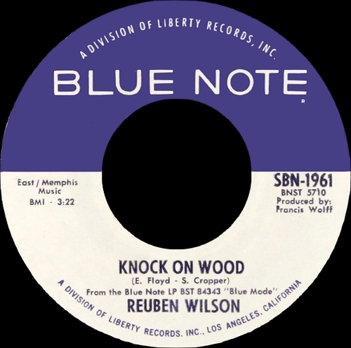 "Reuben Wilson : Album "" Blue Mode "" Blue Note Records BST 84343 [ US ]"