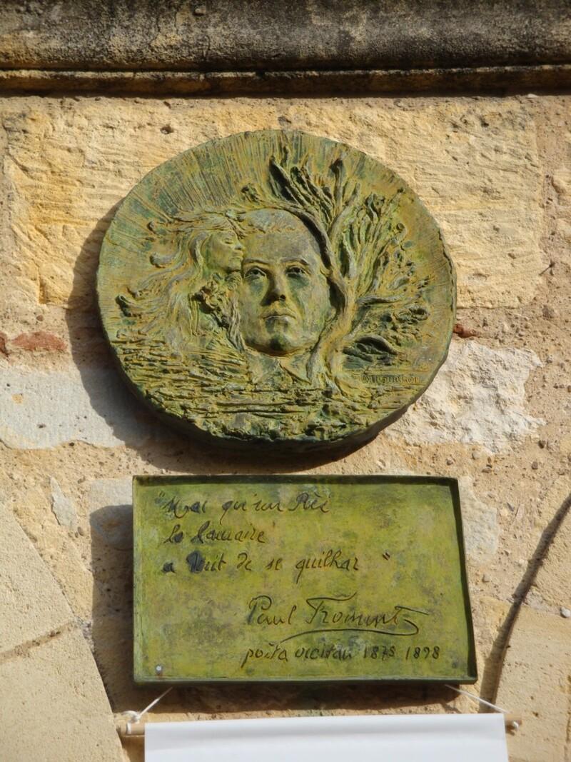 Paul Froment, poète occitan.