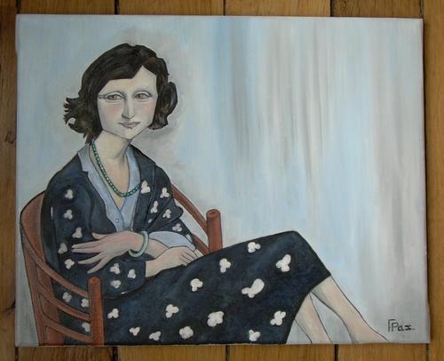Mona, la longue dame brune...!