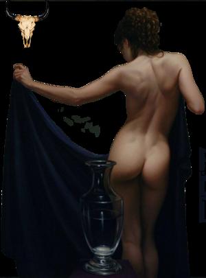 Tube femme nue à la carafe SAC