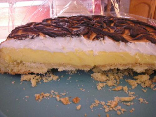 gourmandise : tarte aux citrons