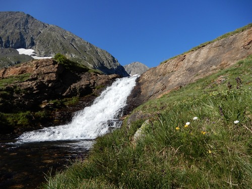Les lacs du Taillefer - Alpes -juillet 2018